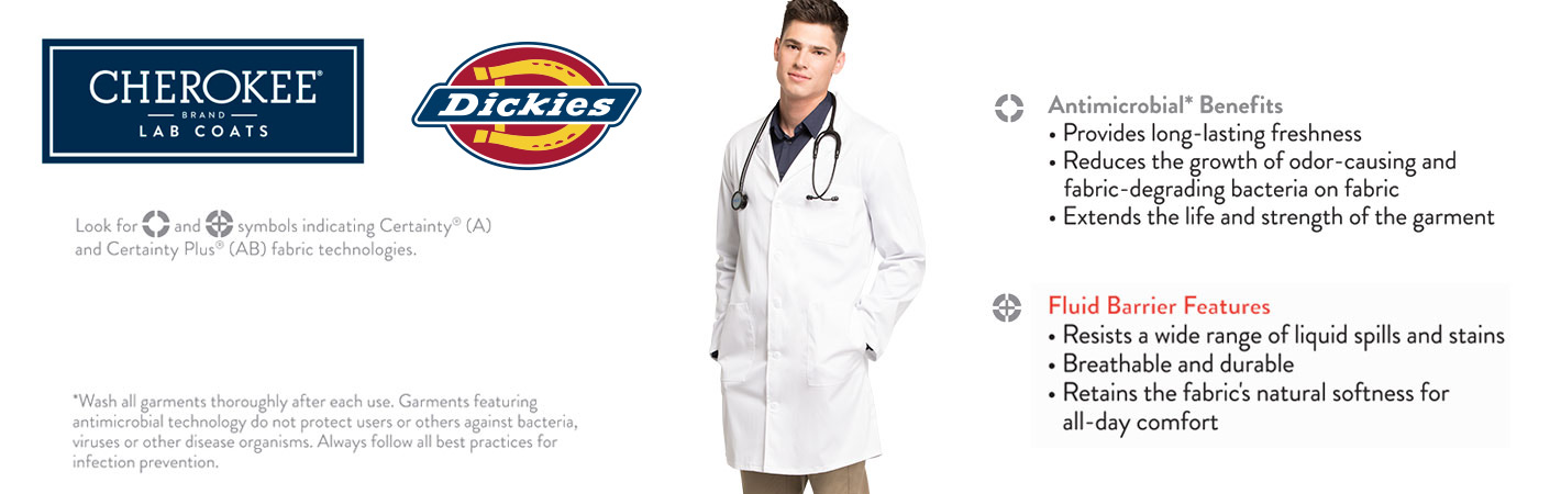 Men's Lab Coats